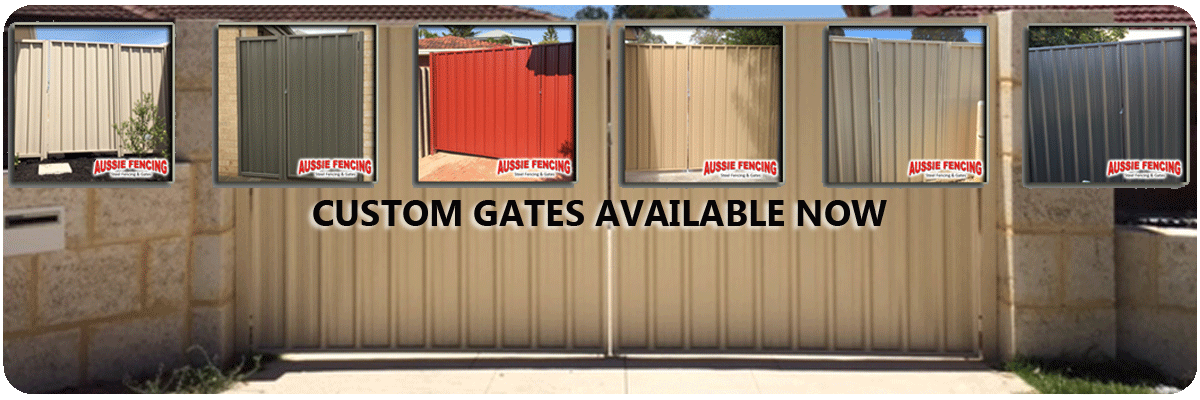 Coloured Steel Gates